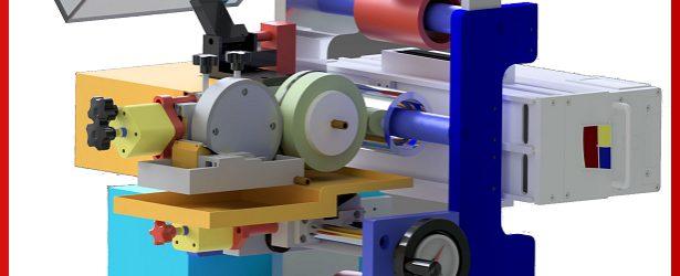 Gruppo miniflexo per stampa e verniciatura