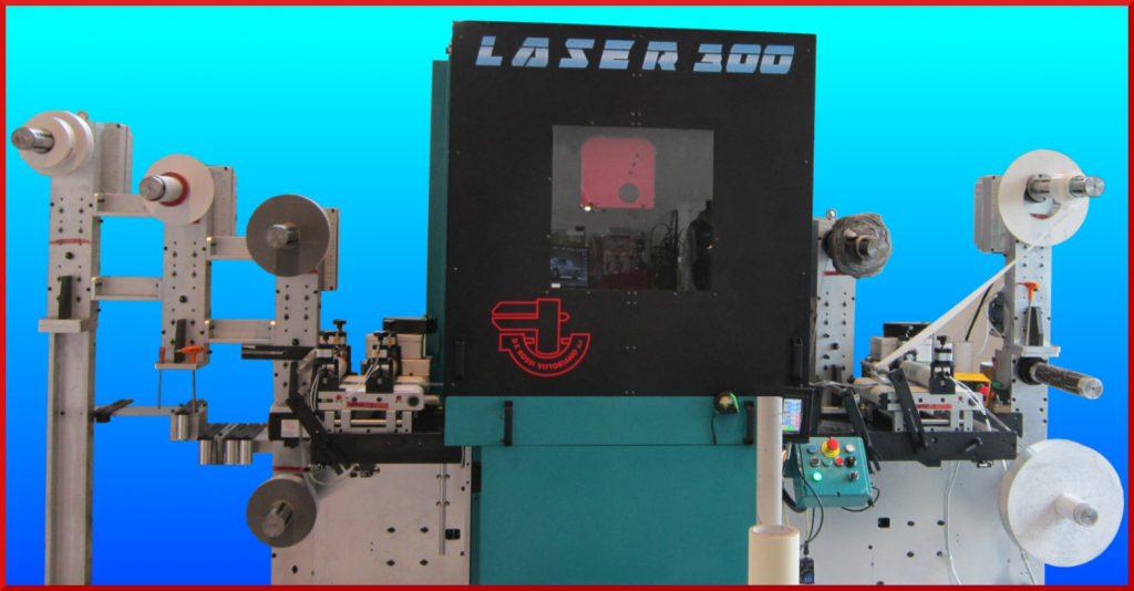 Laser rotary die cutting machine LASER 300