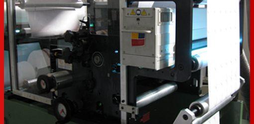 Flexo stampa fronte e retro (bianca e volta)