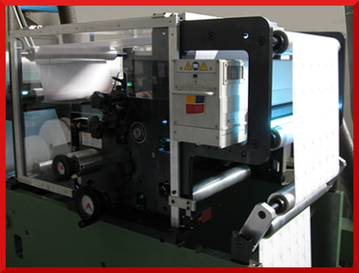 Flexo front/back printing (double sided printing)