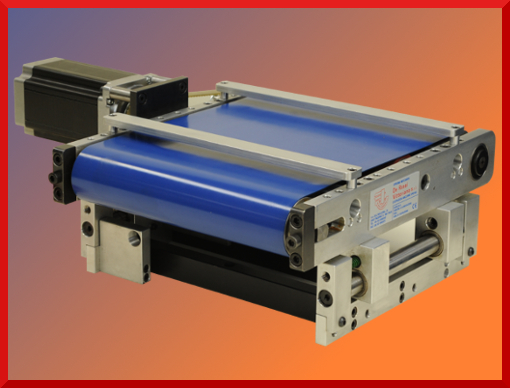 Electrostatic conveyor mat for tension control