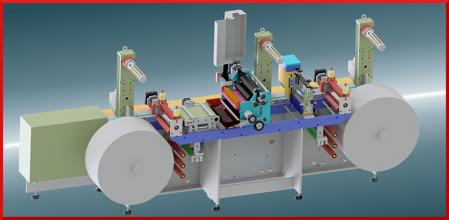 Custom rotary machines manufacturing for printing and die cutting - De Rossi Vittoriano Srl