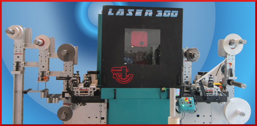 Laser rotary die cutting machine LASER 300