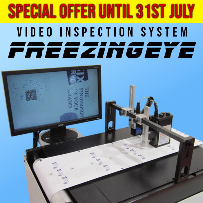 SPECIAL OFFER Video inspection system Freezingeye - DE ROSSI VITTORIANO SRL