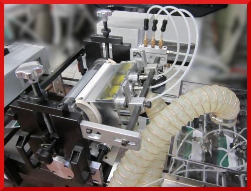Sistema aspirazione coriandoli di fustellatura